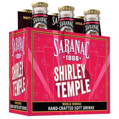 Saranac Shirley Temple - 6pk/12 fl oz Glass Bottles