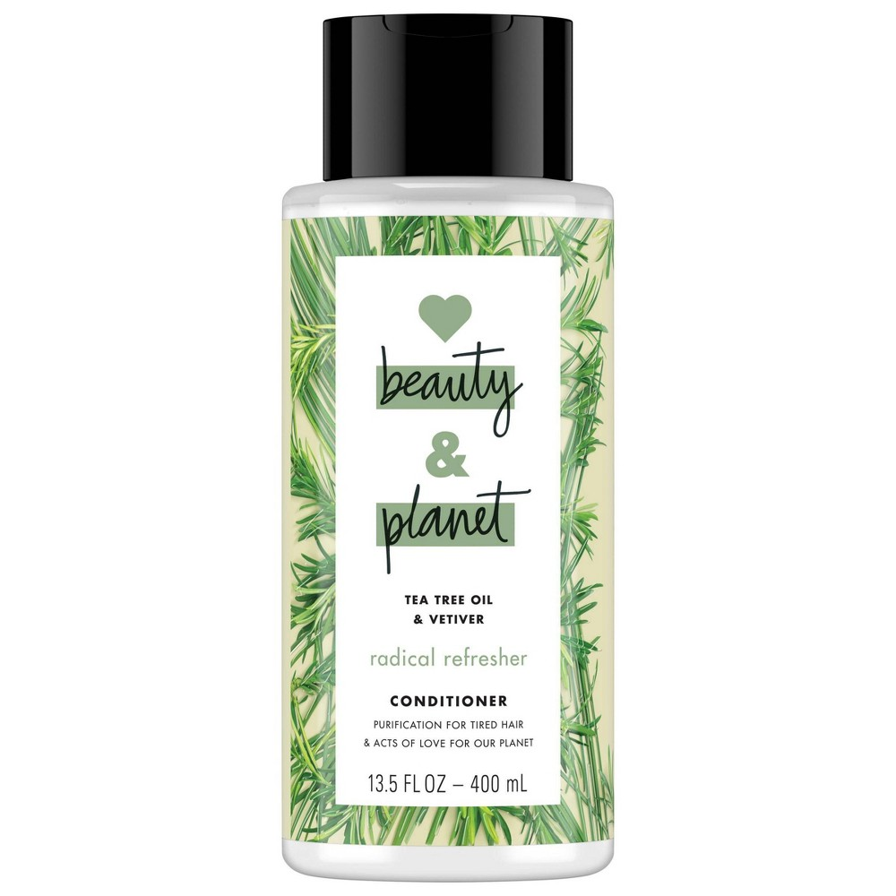 Image of Love Beauty & Planet Tea Tree Oil & Vetiver Radical Refresher Conditioner - 13.5 fl oz