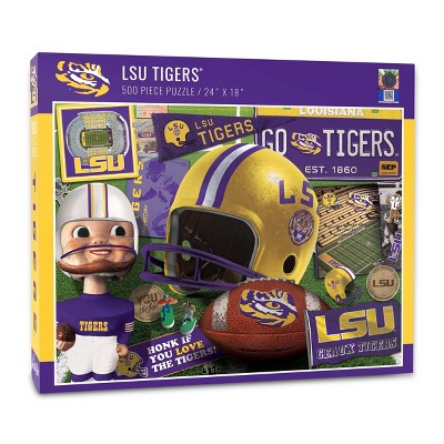 NCAA LSU Tigers Throwback Puzzle 500pc