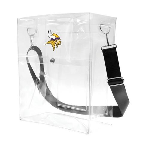 NFL Minnesota Vikings Clear Ticket Satchel - image 1 of 4