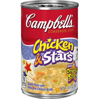 Campbell's® Condensed Chicken & Stars Soup 10.5 oz