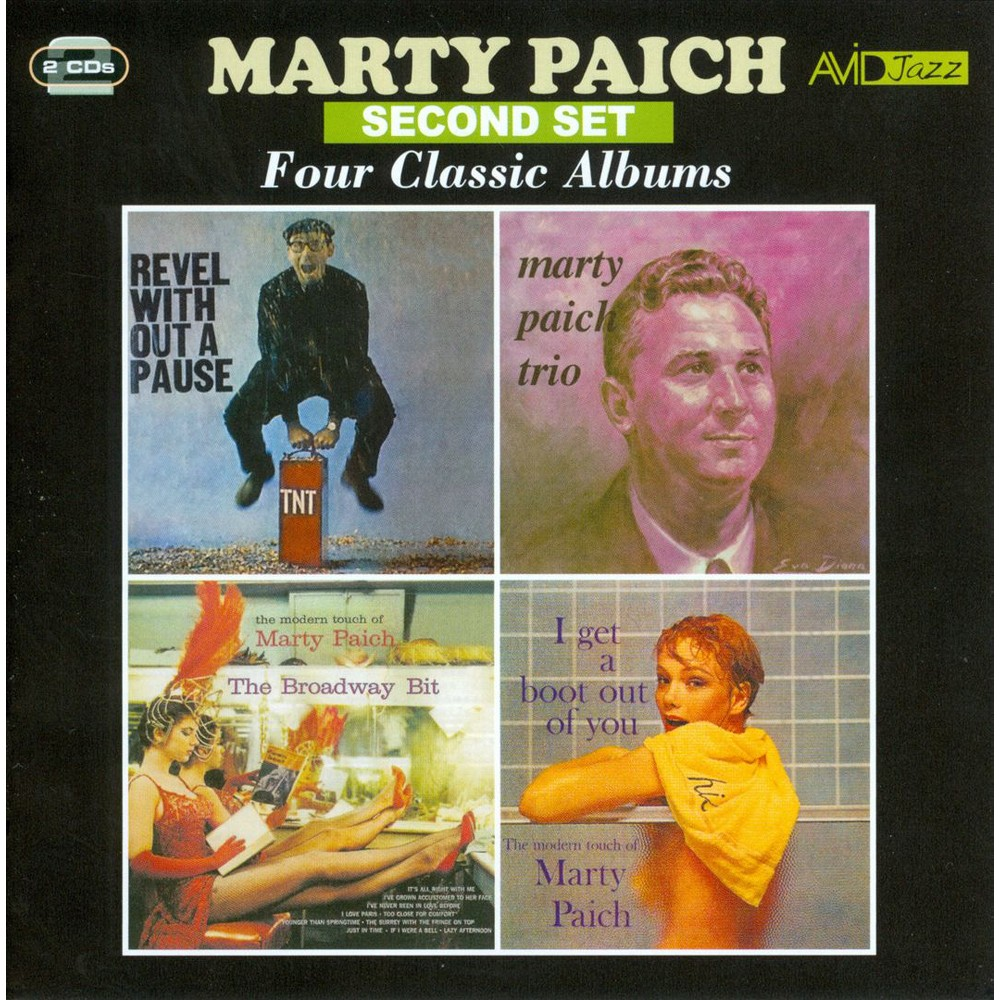 Marty paich - Revel without a pause/Marty paich tri (CD)