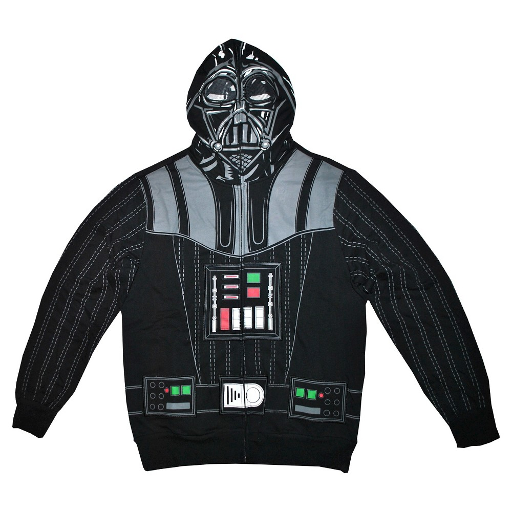 Men's Star Wars Darth Sweatshirt Black L