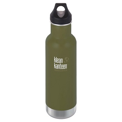 Klean Kanteen 20oz Insulated Portable Drinkware with Loop Cap