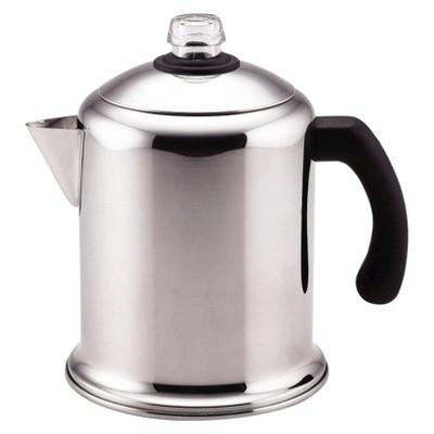Farberware Yosemite 8 Cup Stainless Steel Percolator - Silver