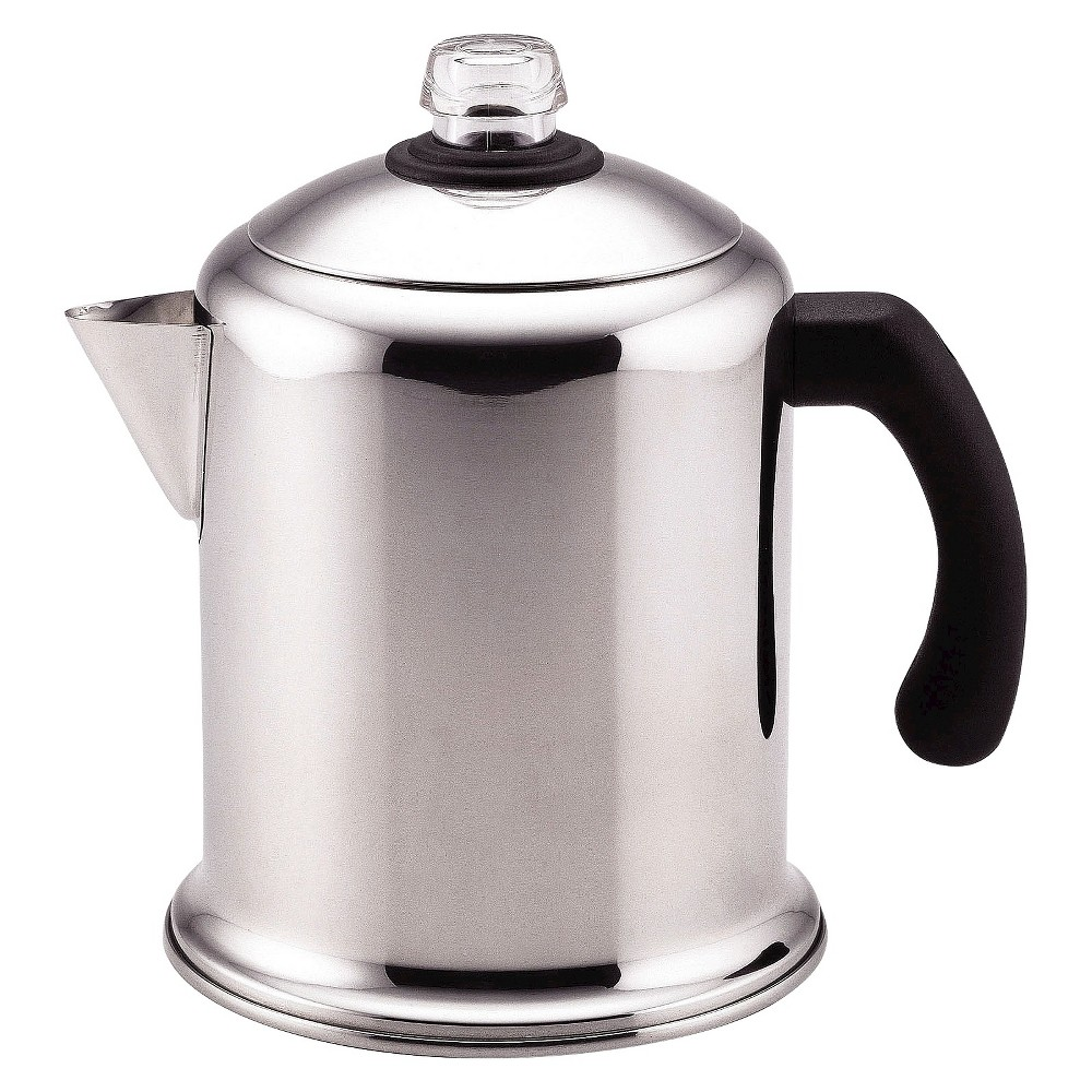 Farberware Yosemite 8 Cup Stainless Steel Percolator – Silver 16597781
