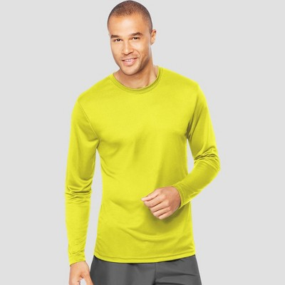 580241ad Hanes Men's Long Sleeve CoolDRI Performance T-Shirt : Target