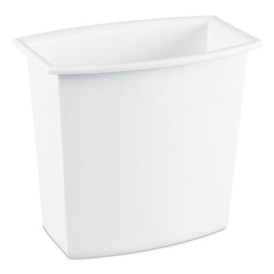 2 Gallon Wastebasket - White - Room Essentials
