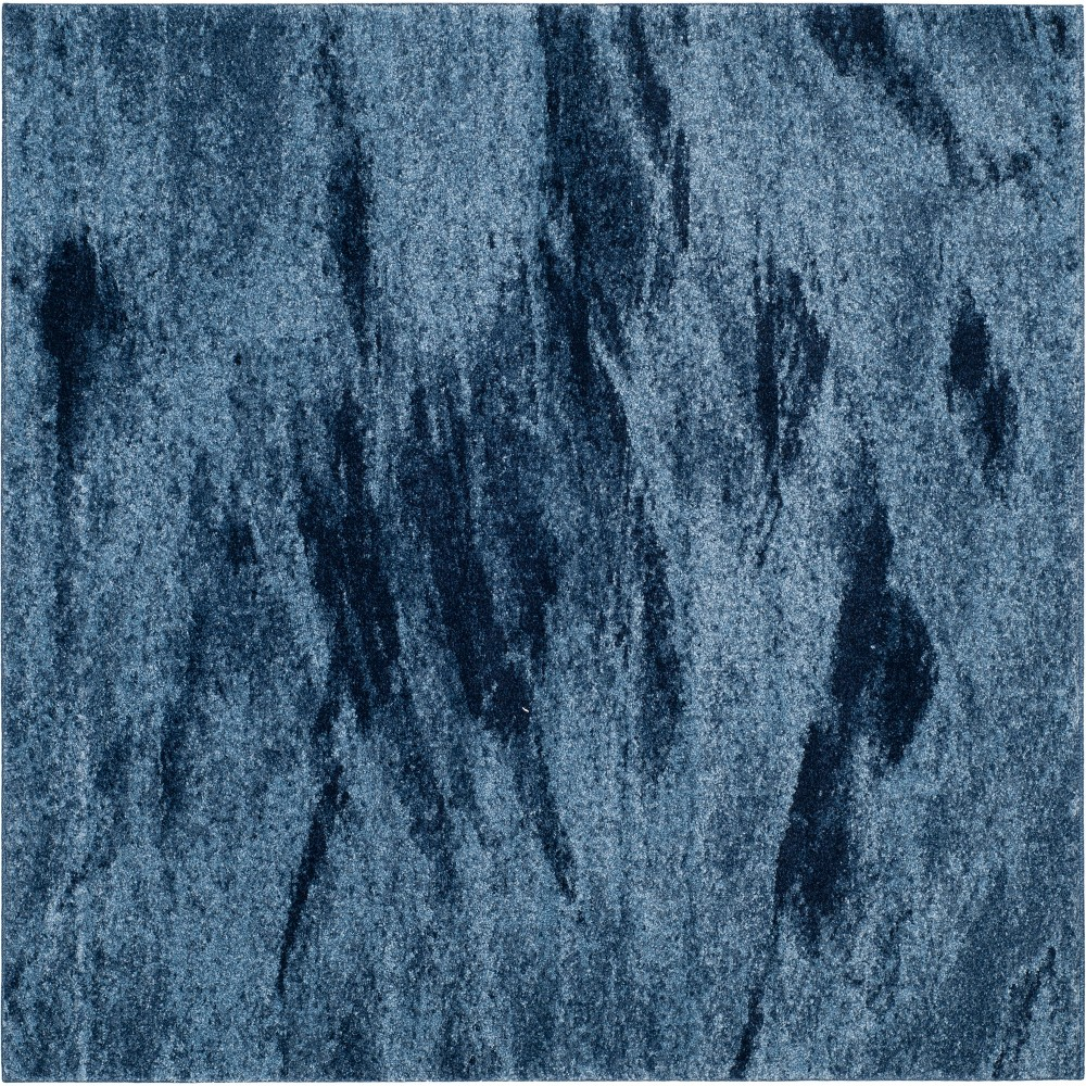 Best 8X8 Marble Loomed Square Area Rug Blue Safavieh