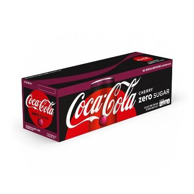 Coca-Cola Cherry Zero - 12pk/12 fl oz Cans