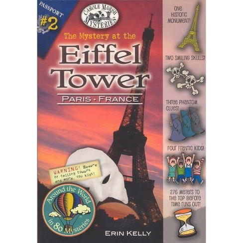 The Mystery at the Eiffel Tower (Paris, France) - (Around the World in 80 Mysteries (Paperback)) - image 1 of 1