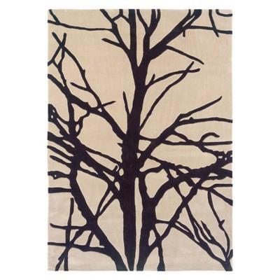 Trio Collection Rug Winter Tree - Linon