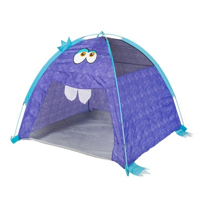 Pacific Play Tents Kids Furry Little Monster Dome Play Tent 4' x 4'