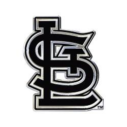 MLB St. Louis Cardinals Chrome Auto Emblem