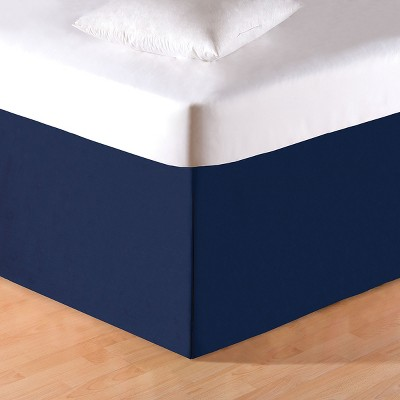 C&F Home Solid Blue Bed Skirt