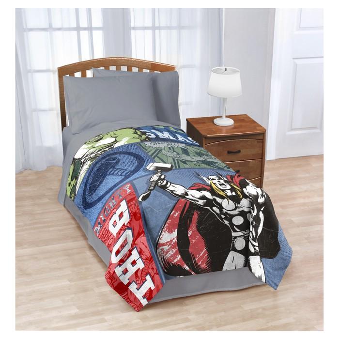 Marvel Thor Bed Blanket (Full) - image 1 of 1