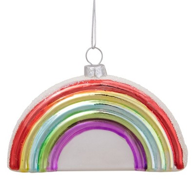 """Northlight 4"""" Shiny Arched Rainbow Hanging Christmas Ornament"""