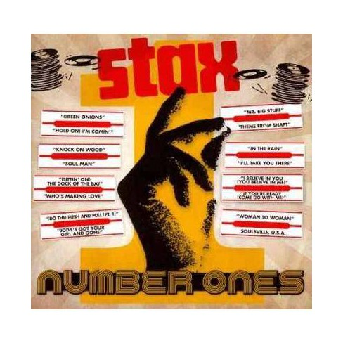 Various Artists - Stax #1's (CD) - image 1 of 1