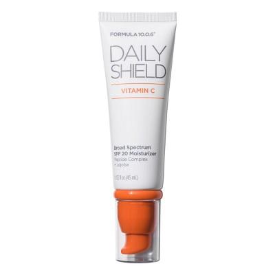Formula 10.0.6 Daily Shield Vitamin C SPF 20 Moisturizer - 1.5 fl oz