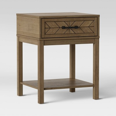Eastford Nightstand With Drawer Brown - Threshold™ : Target