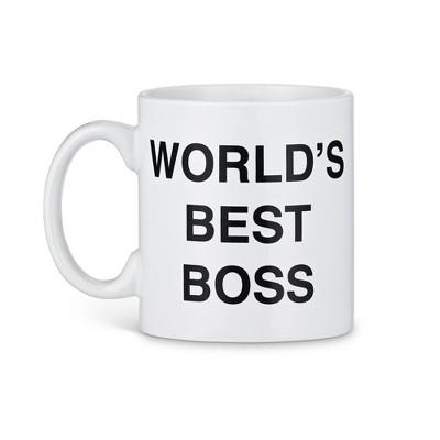 "Surreal Entertainment The Office ""World's Best Boss"" Ceramic Coffee Mug | 20 ounces"