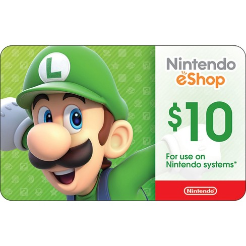 Nintendo eShop Card Digital