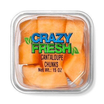 Crazy Fresh Cantaloupe Chunks - 15oz
