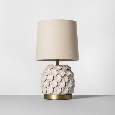 Ceramic Applique Table Lamp Cream - Opalhouse™ - image 1 of 4