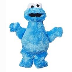 Playskool Sesame Street Cookie Monster 10'' Mini Plush