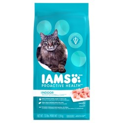 Iams ProActive Health Indoor Weight & Hairball Care Dry Cat Food