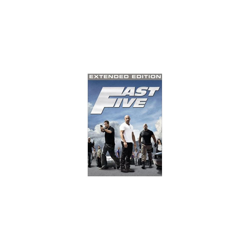 Fast Five (Rated/Unrated) (Widescreen)