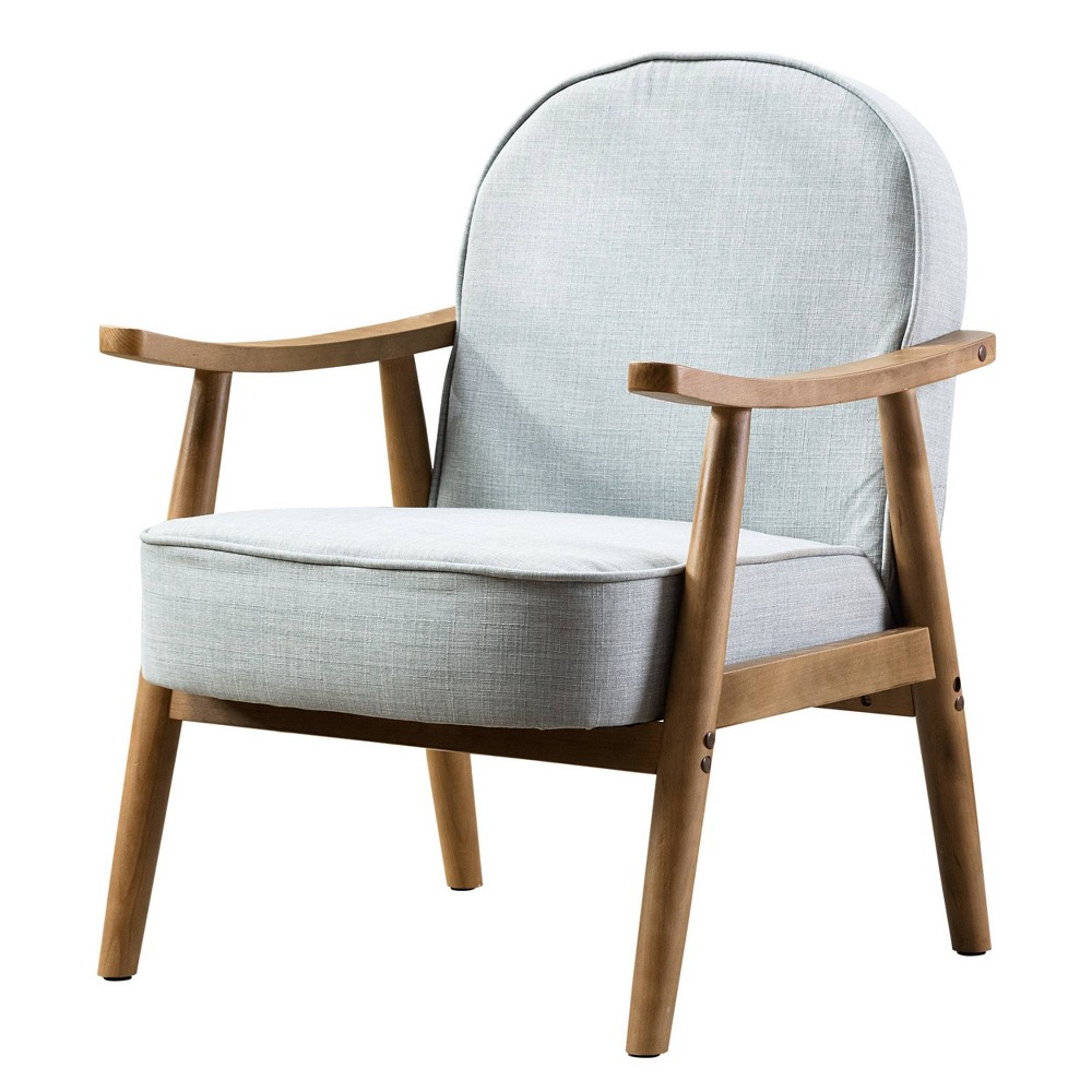 Upholstered Lounge Chair Green Kinwell