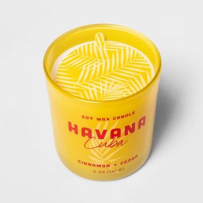 5oz Glass Jar Candle Havana - Opalhouse™