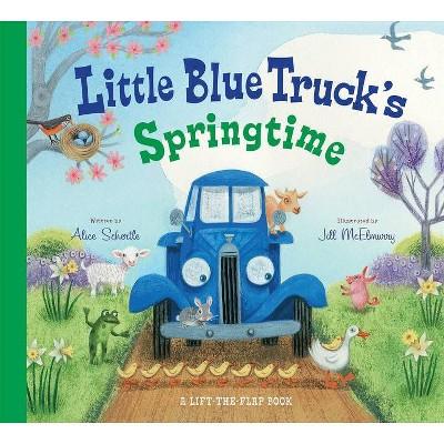 Little Blue Truck's Springtime (Board Book) (Jill McElmurry)