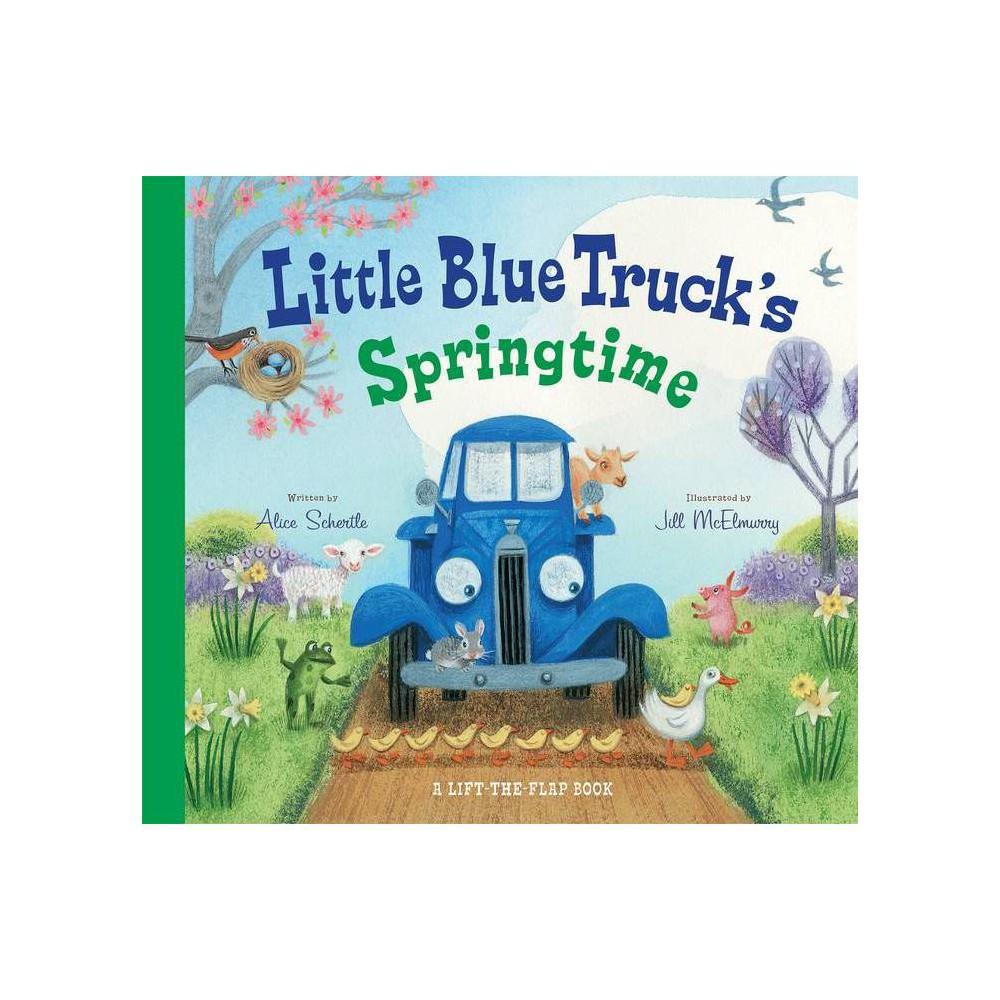 Little Blue Truck S Springtime Board Book Jill Mcelmurry