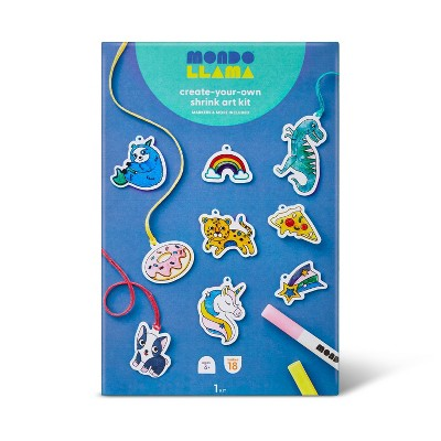Create-Your-Own Shrink Art Kit - Mondo Llama™