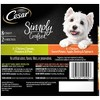 Cesar Simply Crafted Chicken, Barley, Carrots and Spinach Wet Dog Food - 1.3oz / 8pk - image 4 of 4