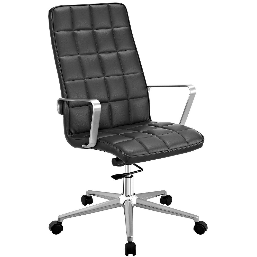 Tile Highback Office Chair Black - Modway