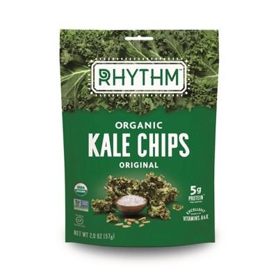 Rhythm Organic Vegan Superfoods Original Kale Chips - 2oz