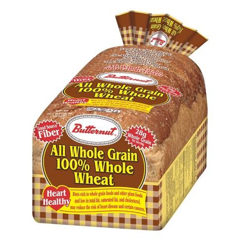 Butternut 100% Whole Wheat Bread - 20oz