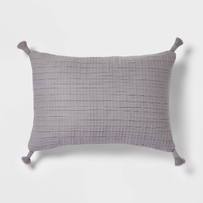 Oblong Double Cloth Decorative Throw Pillow - Threshold™