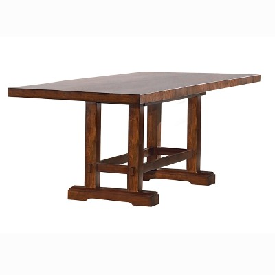 Dion Extendable Dining Table Cherry - Steve Silver Co.