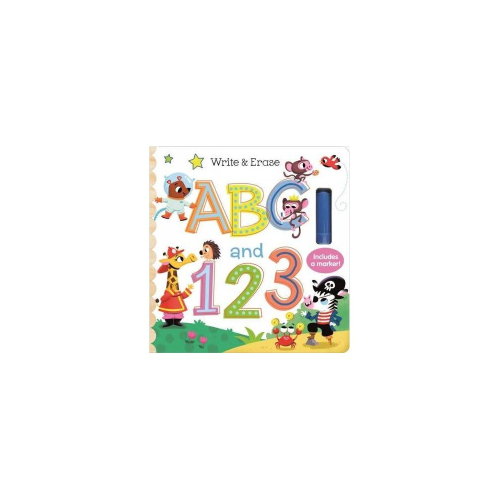 Write Erase Abc And 123 Early Bird Learning By Rufus Downy Board Book
