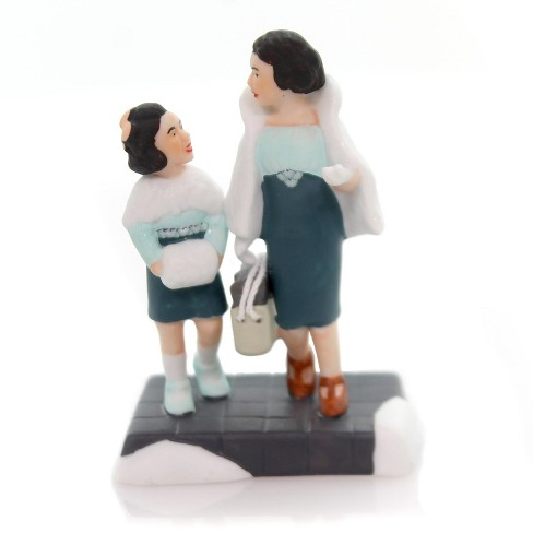 """Department 56 Accessory 2.75"""" Shopping On Park Avenue Christmas In City  -  Decorative Figurines - image 1 of 2"""