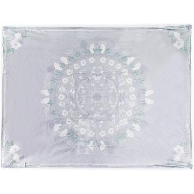 Juvale Bohemian Tapestry (Grey, 59 x 80 in.)