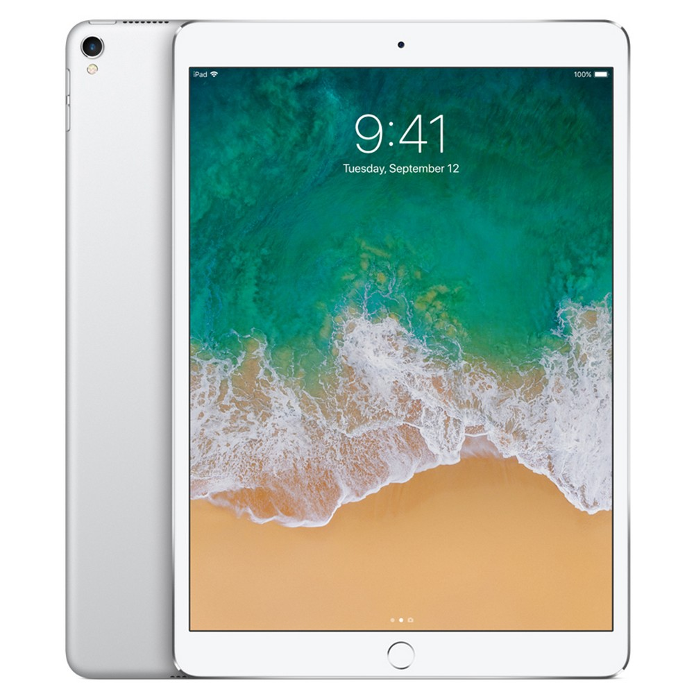 "Apple iPad Pro 10.5"" 64GB Wi-Fi Only (2017 Model, MQDW2LL/A) - Silver"