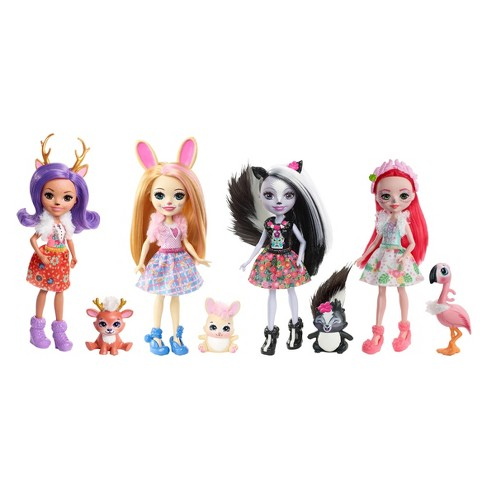 Enchantimals Happy Friends Collection Doll 4pk - image 1 of 5
