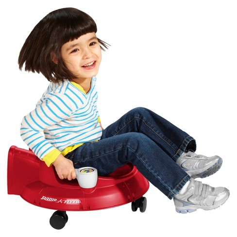 Radio Flyer Red Spin N Saucer - image 1 of 4