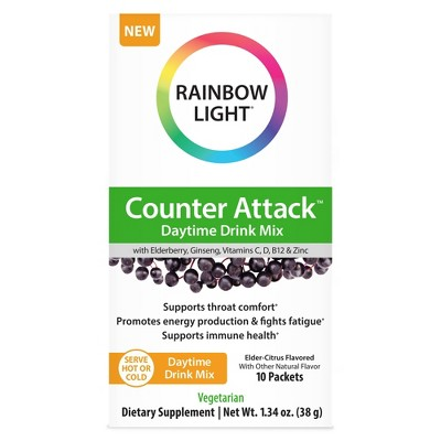 Rainbow Light Counter Attack Daytime Drink Mix - 10ct