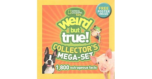 Weird But True! Collector's Mega-Set (Collectors) (Paperback) - image 1 of 1